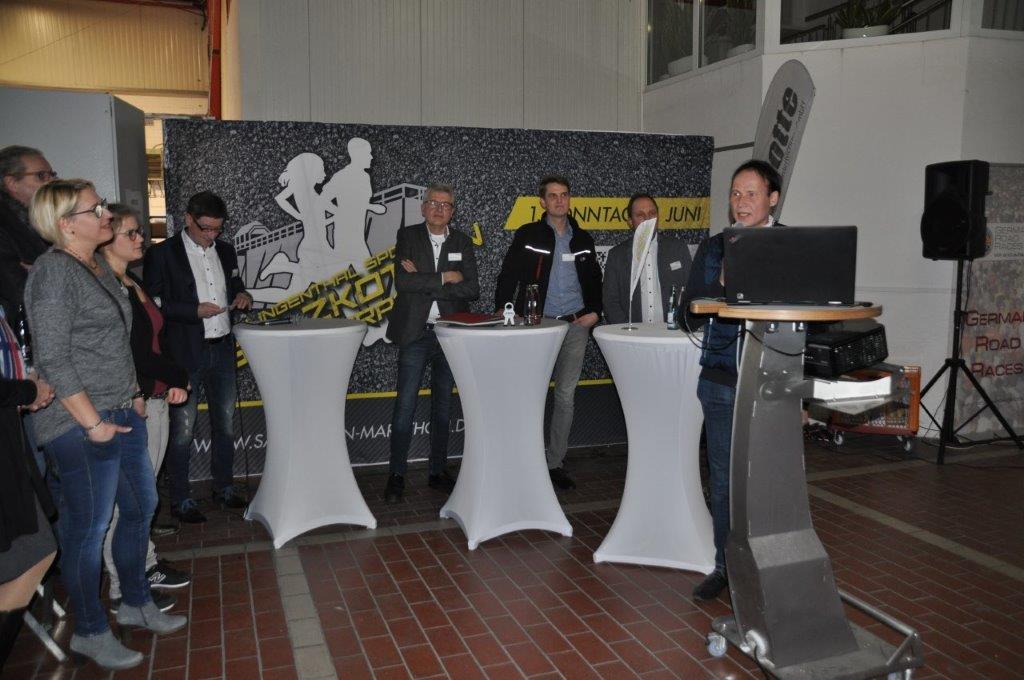 Sport trifft Wirtschaft bei Rotte_Franz-Barthold Gockel stellt das Unternehmen vor