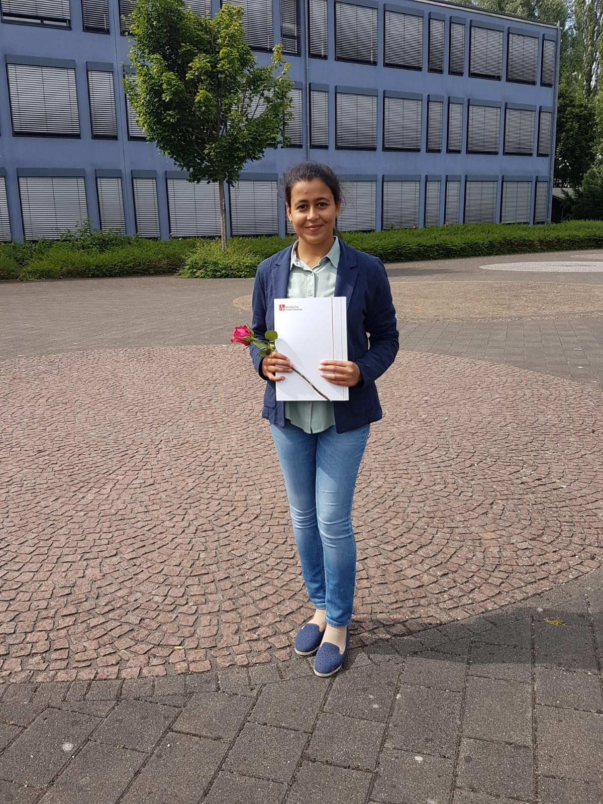 Professional degree Fariha Khan