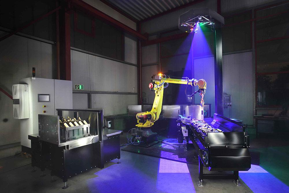 Automatisierung mit Robot Vision Systemen ermöglichen Qualität, Effizienz und Produktsicherheit