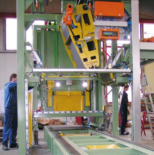 Batch-Off Maschine für Kautschukfelle