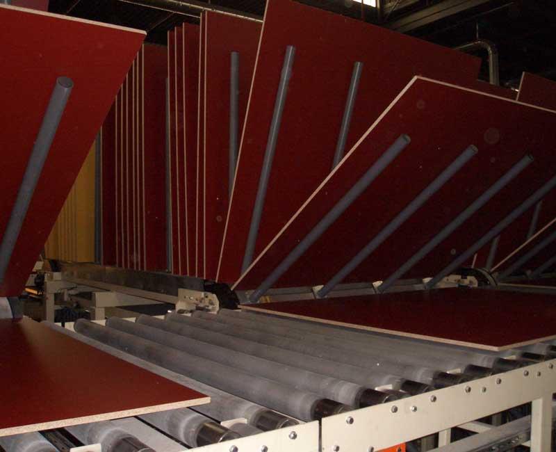Plattenkühler MDF- und Spanplattenherstellung