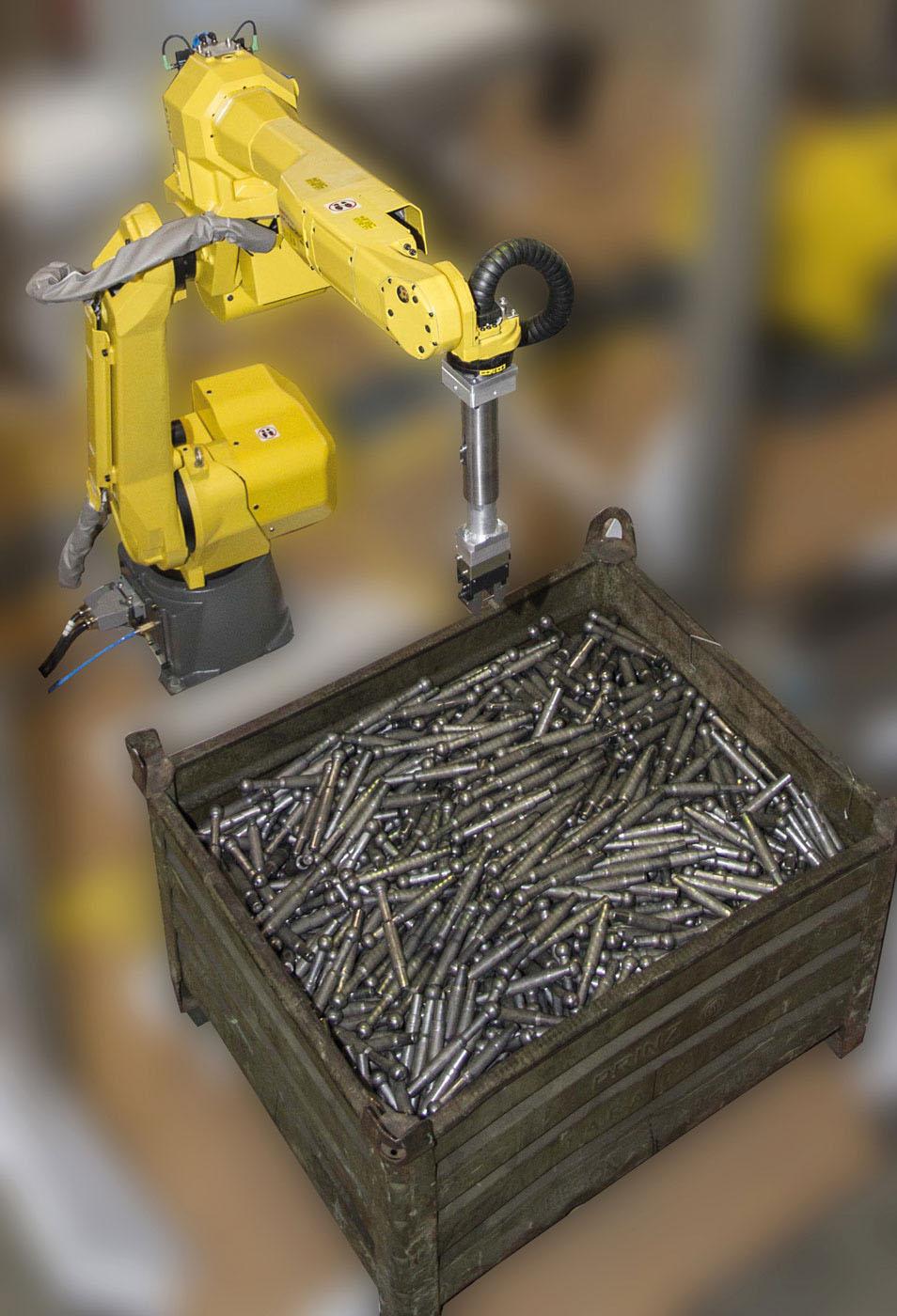 Grap in the box- Bin Picking