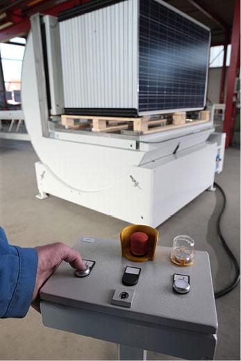 Automatisierung PV Modul Sorter