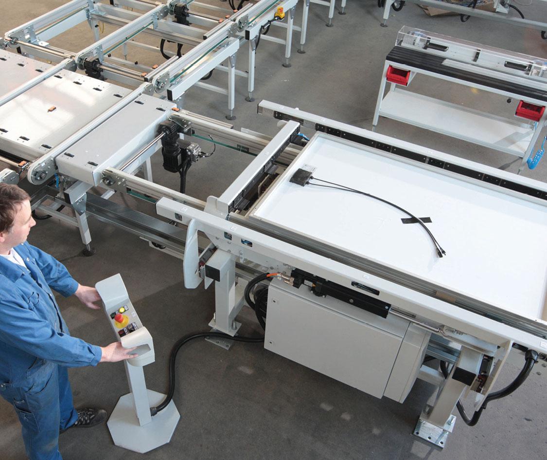 Rahmenpresse PV Solarmodule