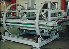 Trommelwender mit angetriebener Rollenbahnen und erweiteter Ausstattung
