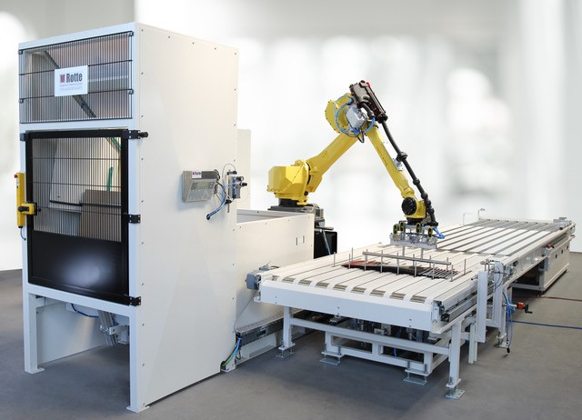 Verpackungsanlage mit Fanuc-Roboter