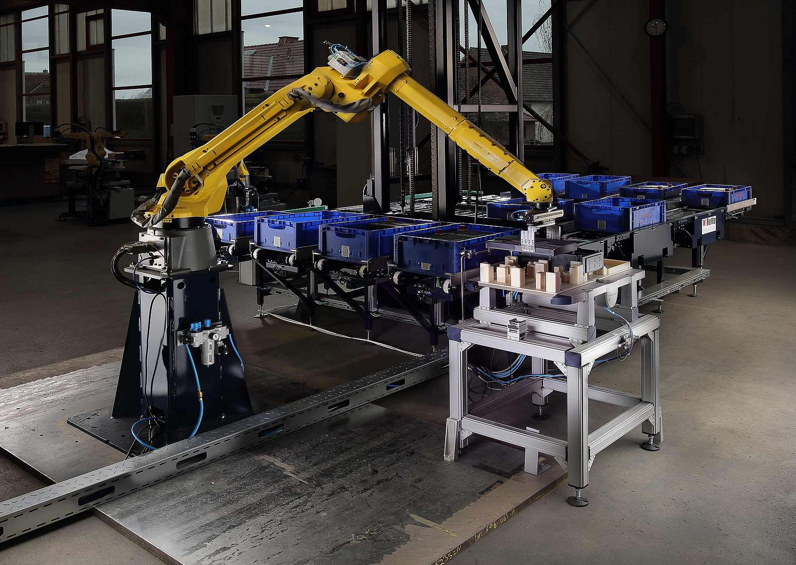 Automated storage through robotics