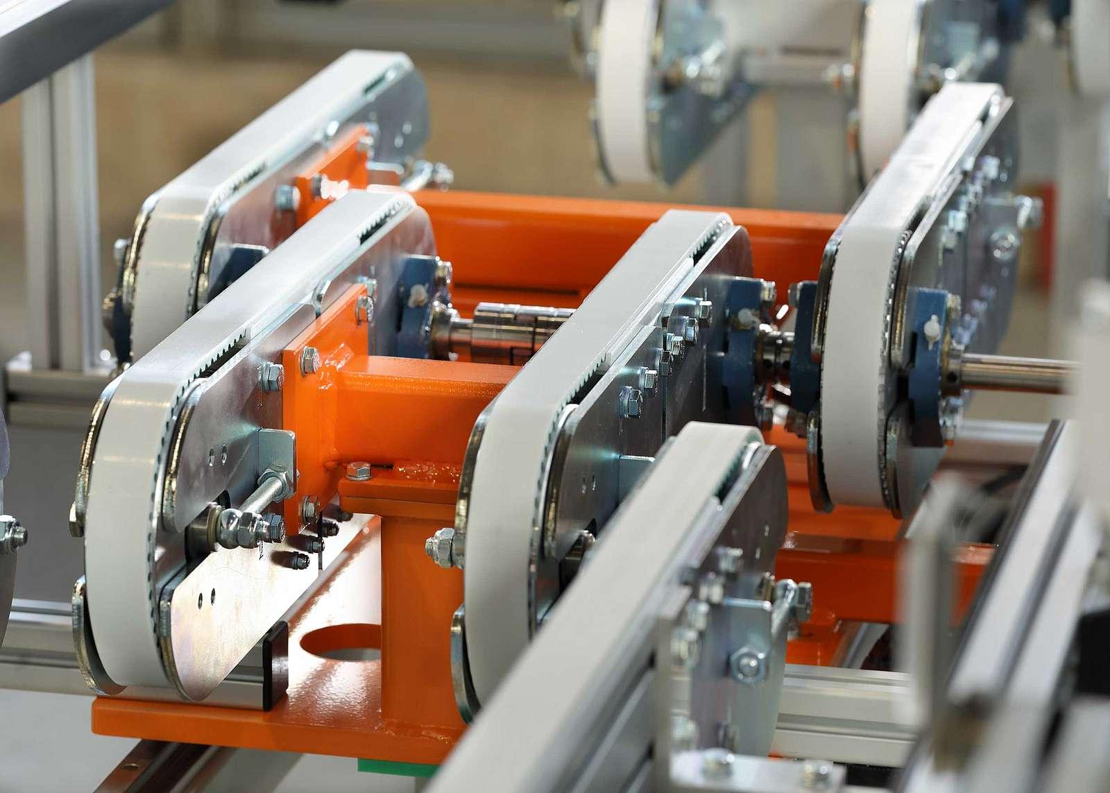 Fördersystem Anlagenbau