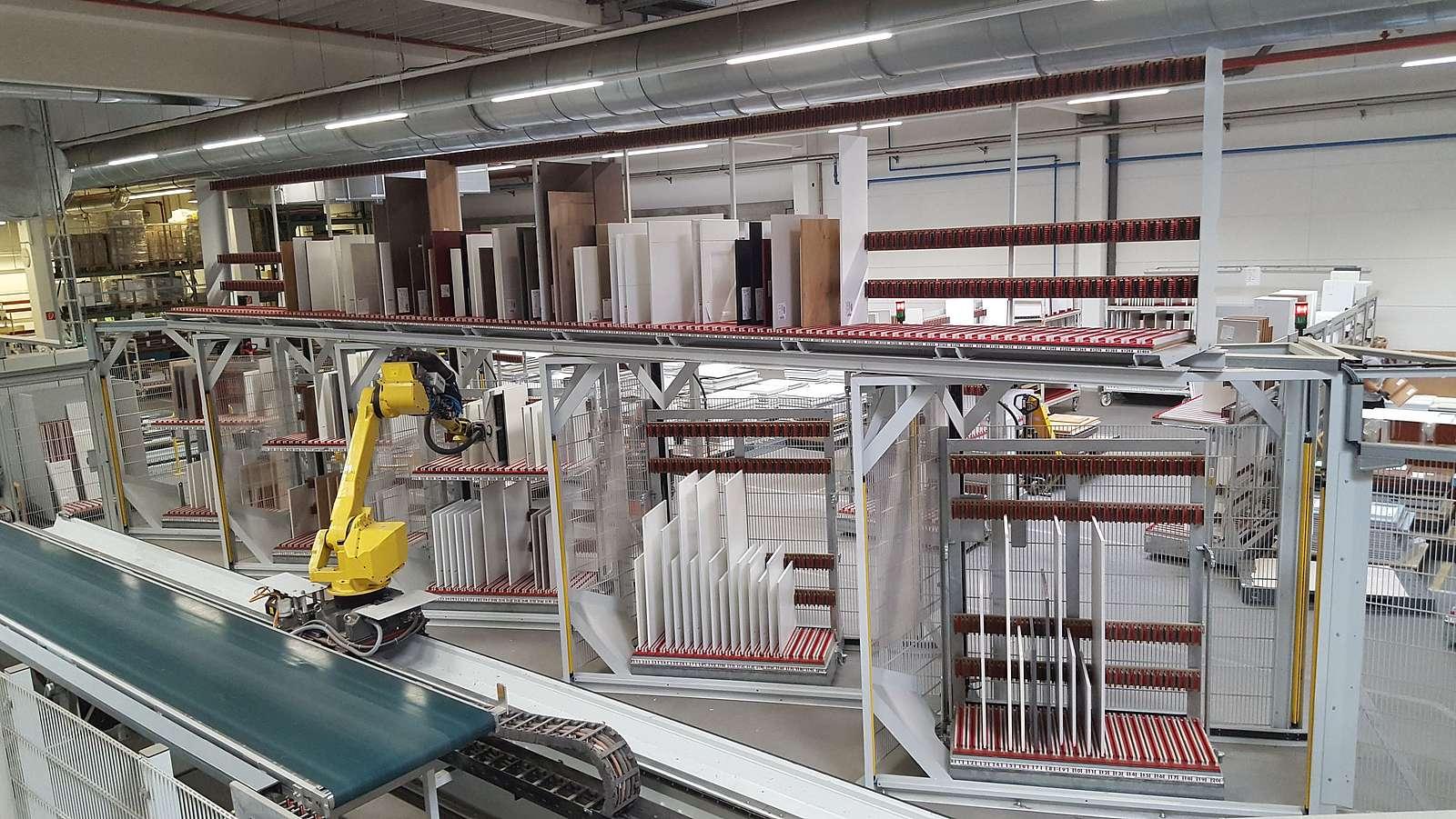 Roboterautomatisierte Kommissionierung