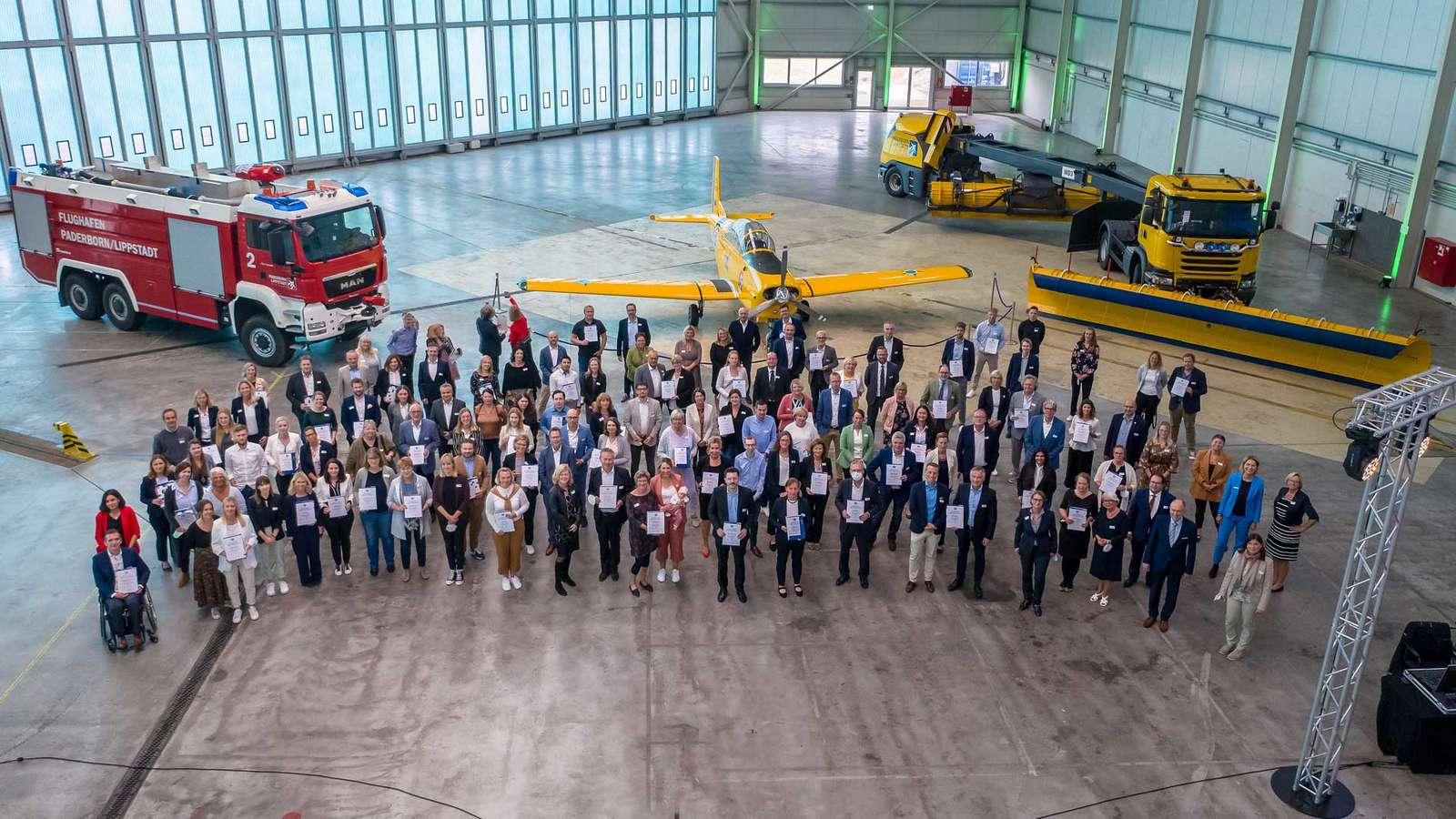 74 Unternehmen aus dem Kreis Paderborn erhalten in diesem Jahr die Auszeichnung