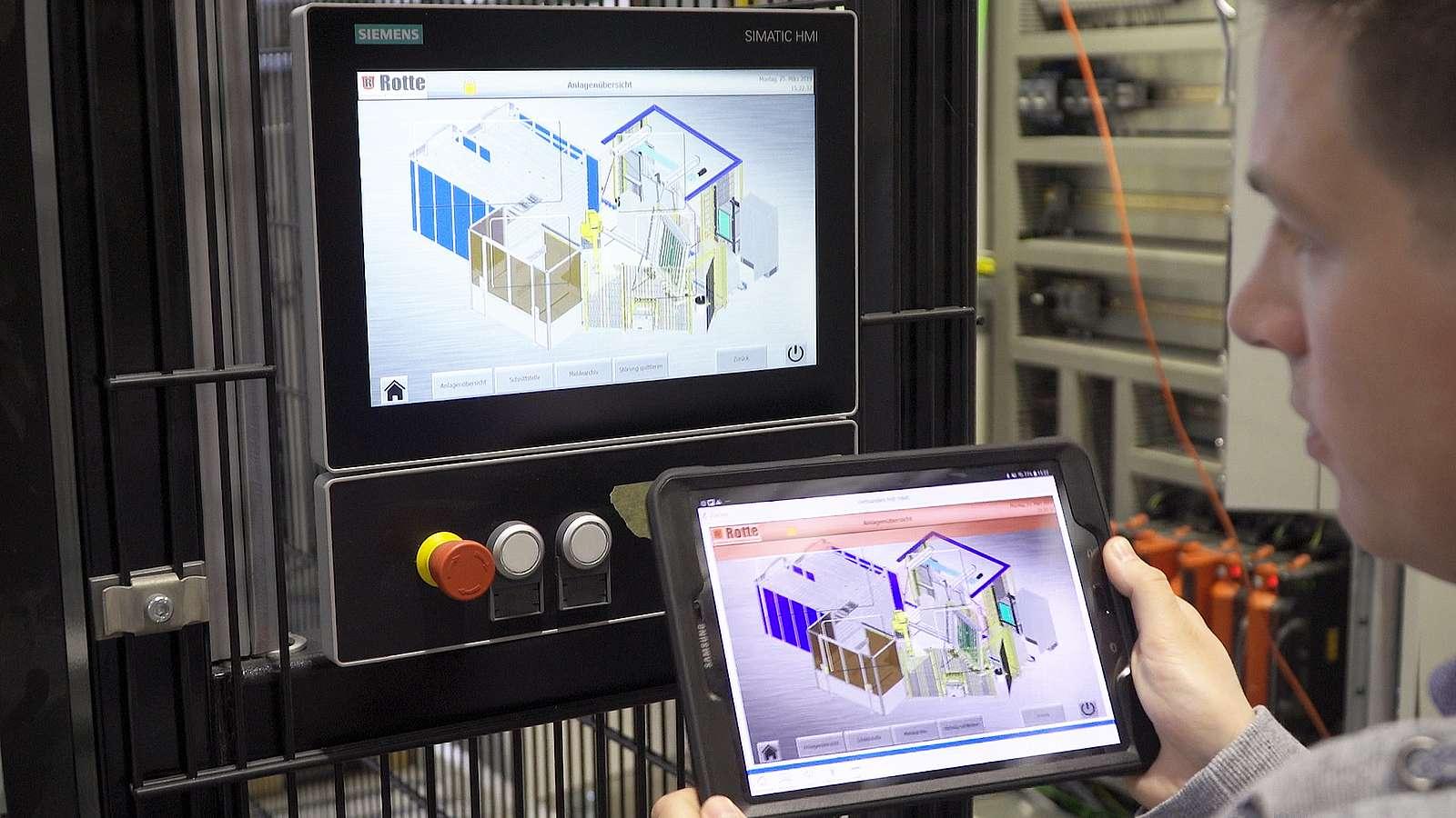 Auch die Rotte Smart-Factory-Plattform unterstützt Kunden in ihrer Produktion und sorgt für mehr Transparenz und Effizienz.