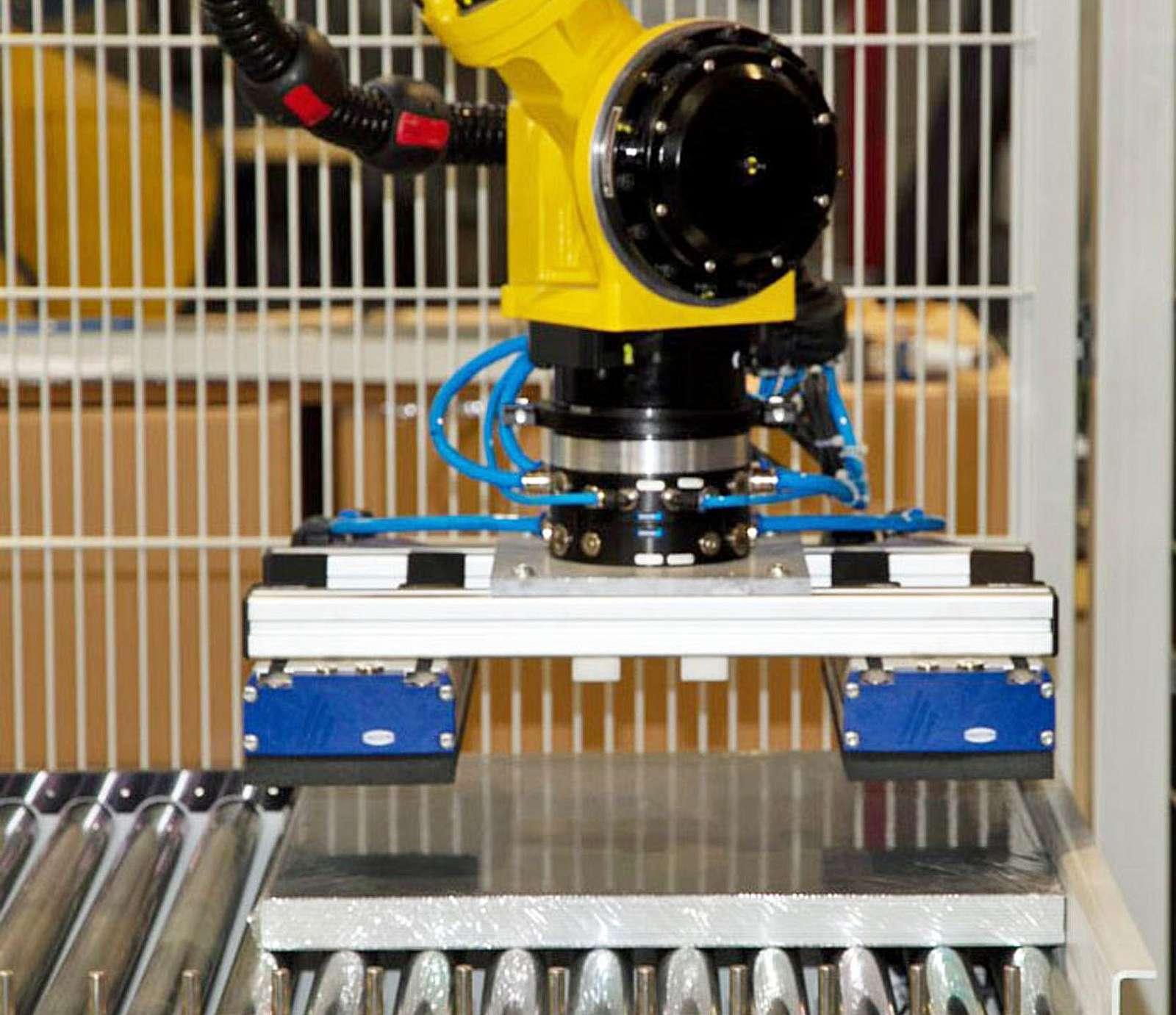 Stapelroboter mit speziellen Greifersystemen