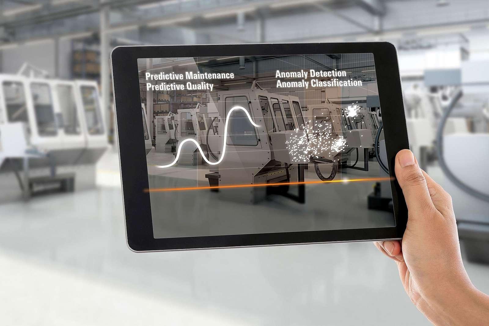 Forschung an Technologien für den digitalen Wandel wie das Smart-Factory-Panel ©Weidmüller