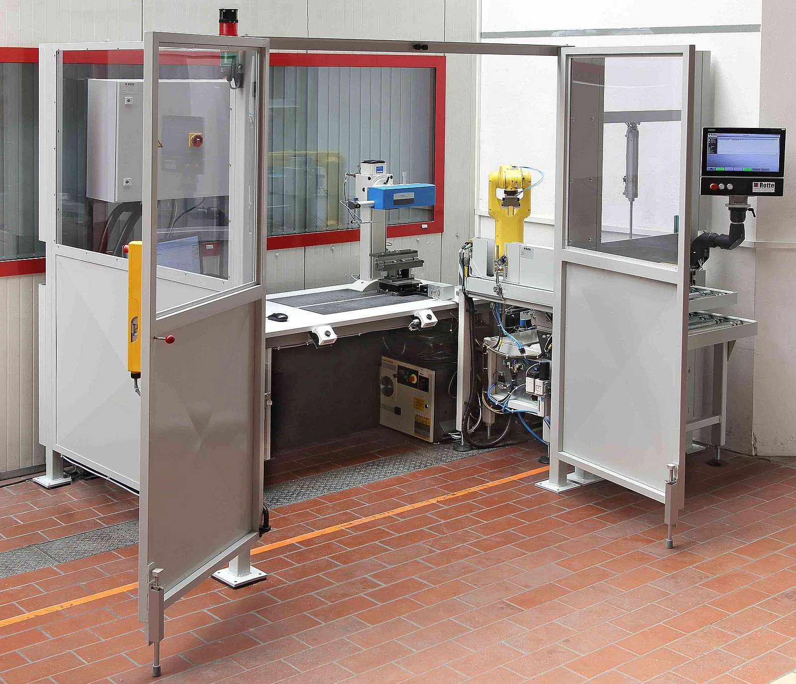 Automation measurement technology cell