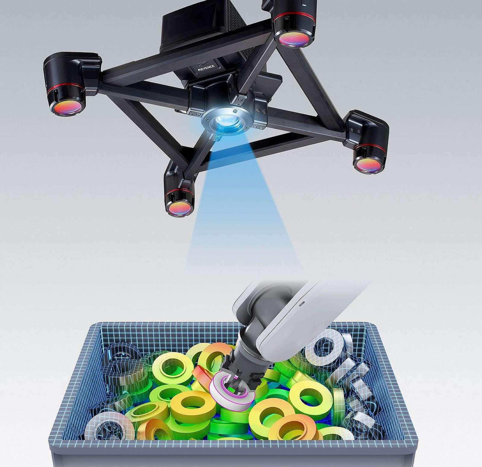 Source: Keyence 3D Robot Vision CV-480D