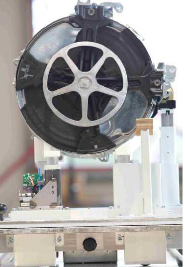 Flexibles Produkt auf einstellbaren Stützen des Aktiven Werkstückträgers