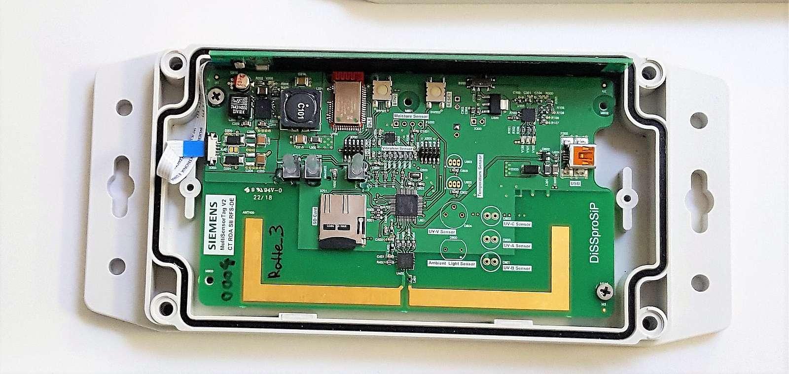 Intelligent wireless sensor