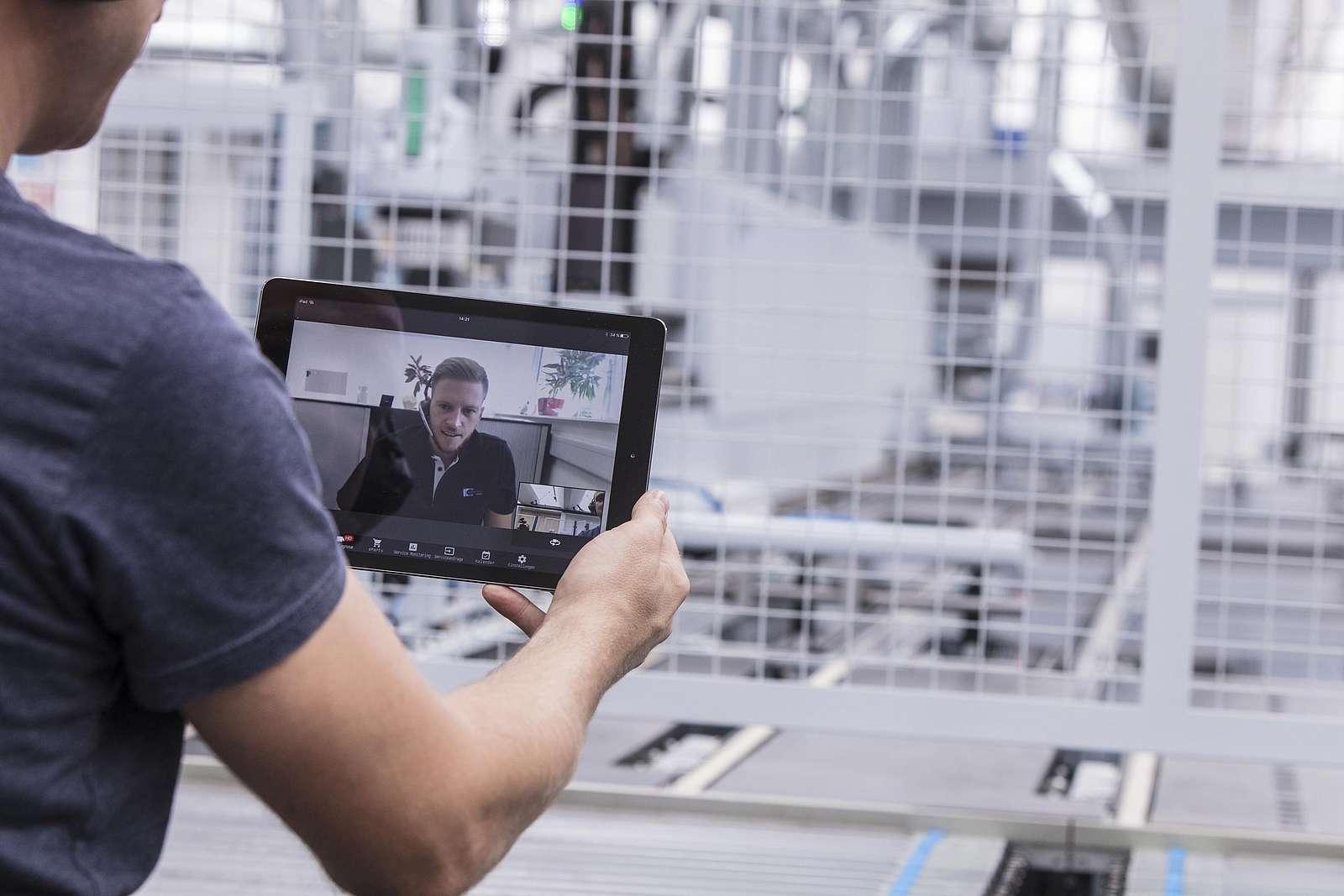 Tapio bietet Möglichkeiten der digitalen Verwaltung und Service von Werkzeugen und Maschine