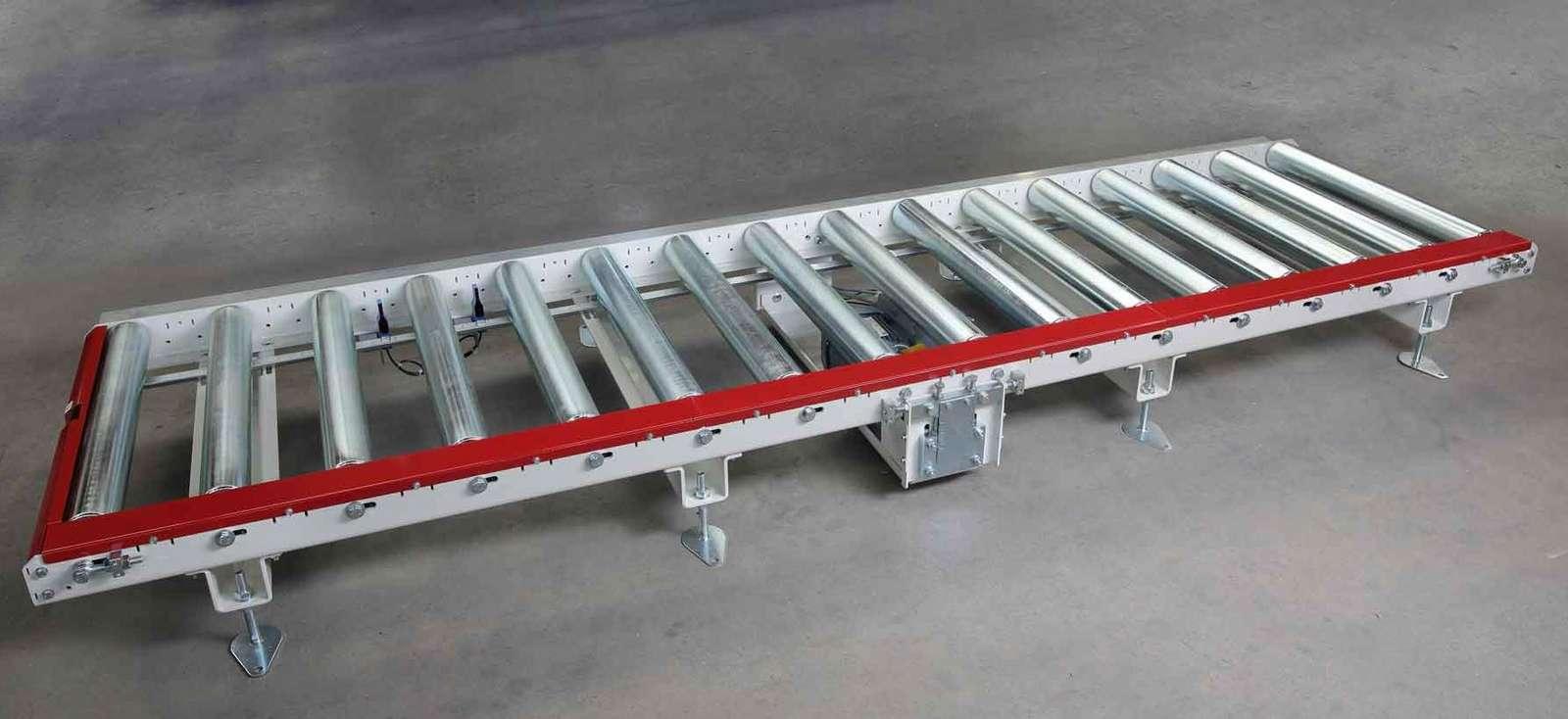 Rollförderer flexibel einsetzbar durch modulare Bauweise