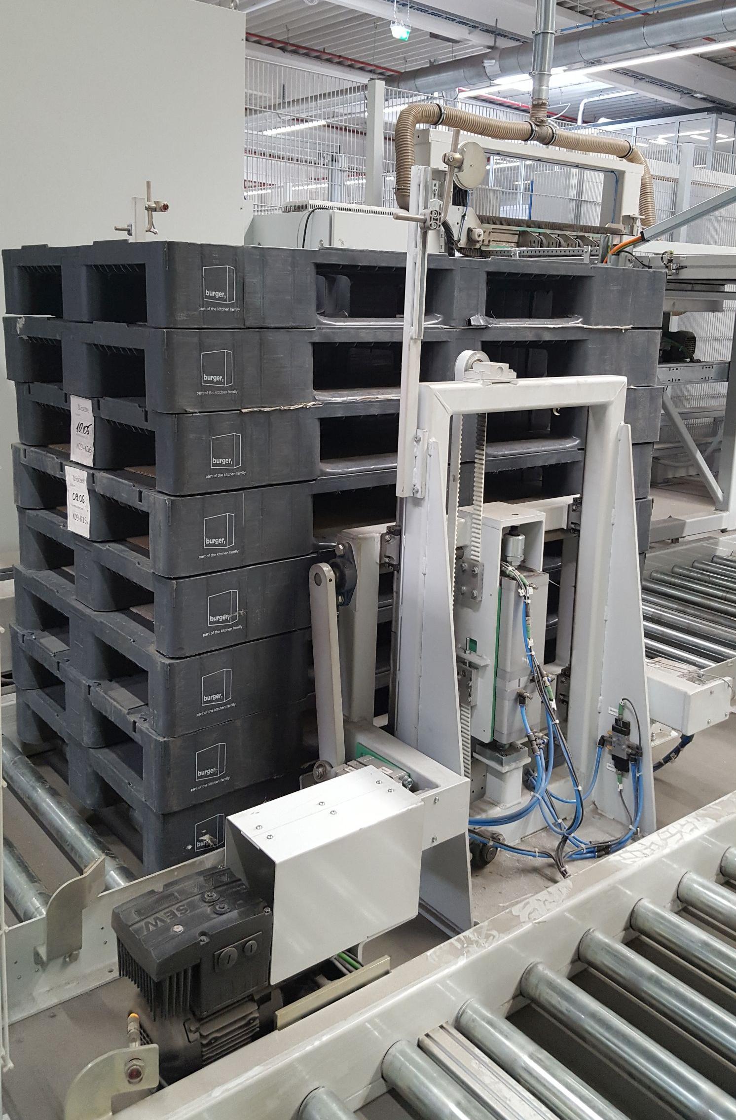 Roboterautomatisiertes kommissionieren in der Möbelindustrie